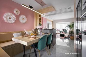 20万以上120平米三室三厅北欧风格餐厅图片大全