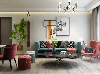 经济型三室两厅轻奢风格客厅装修效果图