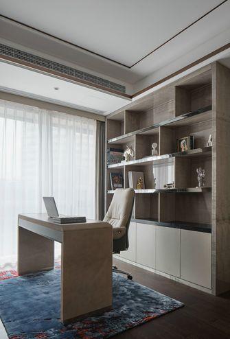 140平米三室两厅现代简约风格书房效果图