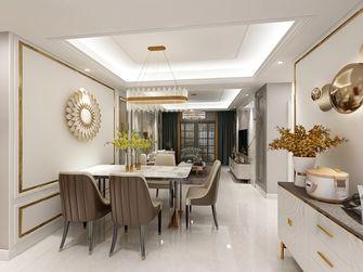 90平米三室一厅美式风格餐厅欣赏图