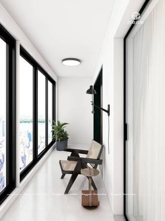 120平米四室一厅中式风格阳台装修案例