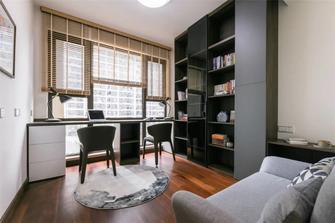 15-20万110平米三室两厅轻奢风格书房装修效果图