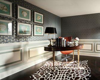 20万以上120平米三室两厅欧式风格书房装修图片大全