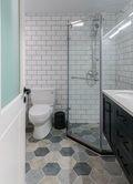 富裕型100平米一室一厅北欧风格卫生间装修效果图