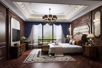 20万以上140平米别墅新古典风格卧室图片大全