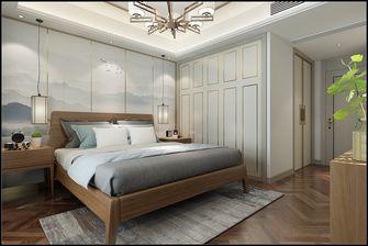 豪华型140平米四室两厅中式风格卧室图
