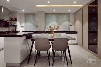 10-15万140平米三室两厅现代简约风格餐厅装修图片大全