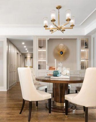 5-10万140平米三室一厅轻奢风格餐厅装修图片大全