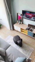 5-10万50平米小户型北欧风格客厅装修案例