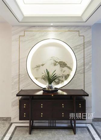 140平米复式中式风格玄关装修图片大全
