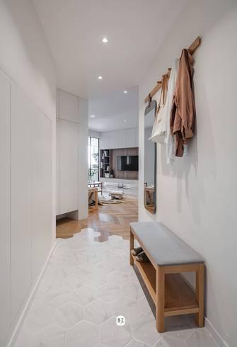 经济型一室一厅现代简约风格玄关图