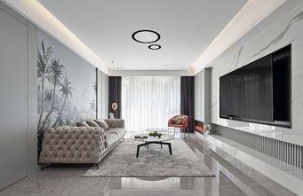 110平米欧式风格客厅图