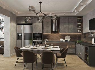 富裕型100平米工业风风格厨房装修图片大全
