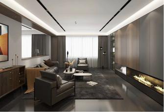 豪华型120平米三英伦风格客厅效果图
