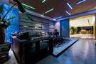 140平米三室两厅美式风格健身房图
