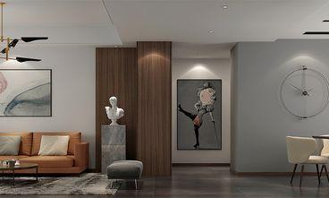 富裕型120平米三室一厅现代简约风格走廊欣赏图