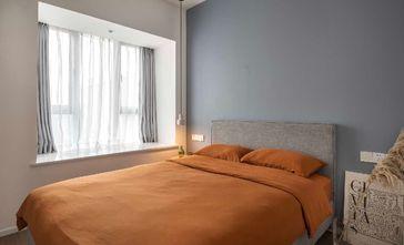 经济型80平米一室两厅北欧风格卧室装修案例