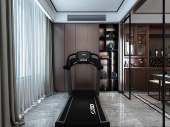 140平米三中式风格健身房装修效果图
