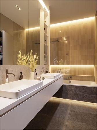 富裕型80平米三室两厅新古典风格卫生间装修图片大全