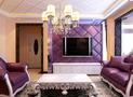 富裕型120平米三室三厅欧式风格客厅设计图