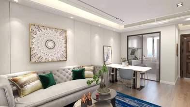 20万以上120平米别墅北欧风格客厅装修图片大全
