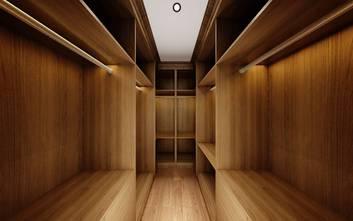 140平米别墅中式风格衣帽间装修图片大全