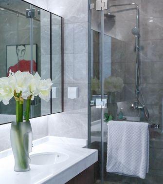 90平米三室两厅现代简约风格卫生间效果图