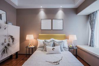 富裕型110平米四室一厅中式风格卧室装修案例