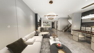 3万以下140平米三室两厅现代简约风格客厅图片大全