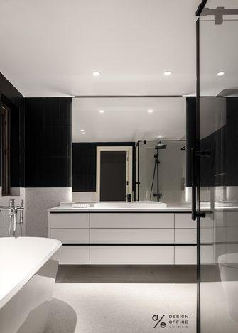 富裕型140平米三室两厅法式风格卫生间欣赏图