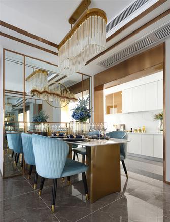 15-20万90平米三室两厅地中海风格餐厅欣赏图