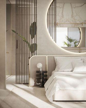豪华型140平米别墅英伦风格卧室效果图