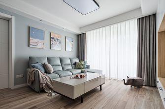 5-10万80平米北欧风格客厅设计图