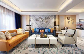 经济型三室两厅法式风格客厅装修效果图