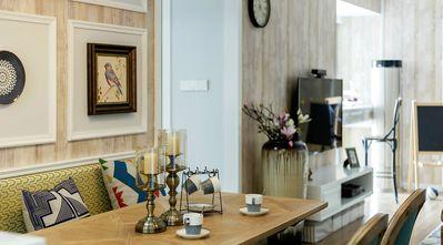 130平米三美式风格客厅欣赏图