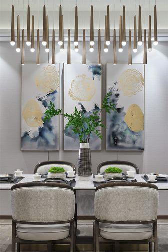 20万以上110平米三室一厅中式风格餐厅图片大全