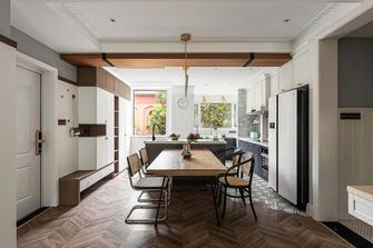 5-10万120平米三室两厅混搭风格餐厅图