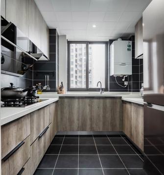 120平米一室两厅现代简约风格厨房图片