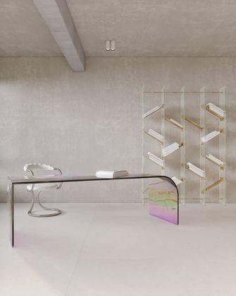 140平米四室两厅日式风格书房设计图