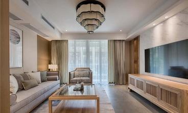 80平米一室一厅中式风格客厅欣赏图