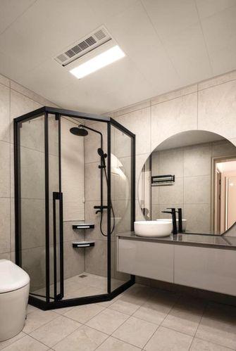 豪华型100平米三法式风格卫生间图