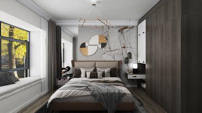 110平米三室两厅轻奢风格卧室装修案例