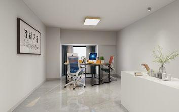 经济型60平米复式现代简约风格书房装修图片大全