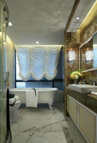 豪华型110平米三室一厅欧式风格卫生间装修图片大全