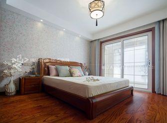 120平米三中式风格卧室设计图