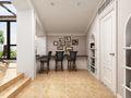 20万以上140平米复式现代简约风格阳光房图片