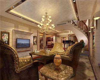 140平米三室一厅新古典风格客厅图片大全