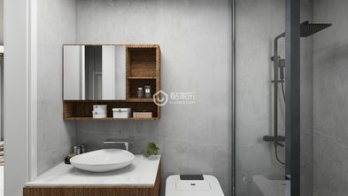 90平米三室两厅欧式风格卫生间装修案例