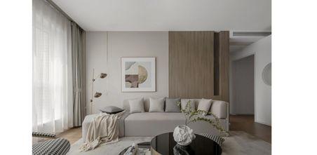 富裕型100平米三室一厅欧式风格客厅装修效果图