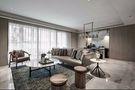 富裕型120平米一居室混搭风格客厅装修案例